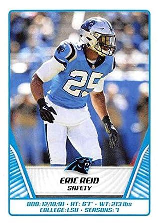 new arrival 71cf6 48d82 Amazon.com: 2019 Panini NFL Sticker #445 Eric Reid Carolina ...