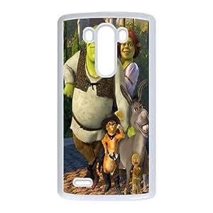 Fashionable Creative Shrek Cover case For LG G3 YF8K92025