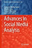 img - for Advances in Social Media Analysis (Studies in Computational Intelligence) book / textbook / text book