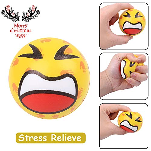 Slow Rising Squeeze Toy Lovely Fun Ball Elasticity Rising Stress Reliever Toys for Kids and Adults (Yellow) ()