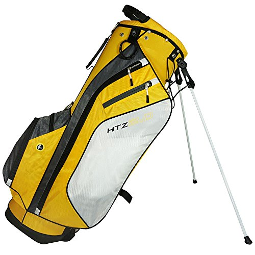 Hot-Z 2017 Golf 2.0 Stand Bag, Yellow/White/Gray