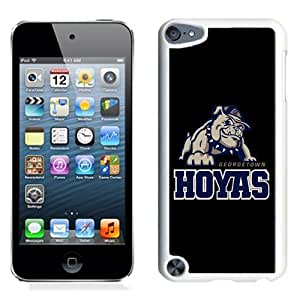 NCAA Patriot League Football Georgetown Hoyas 7 Protective Cell Phone Hardshell Cover Case for Ipod 5th Generation White iPod touch 5 Case