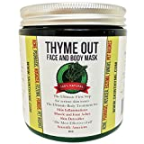 100% Natural Thyme Out Face & Body Mask For Skin Inflammations & Joint Aches