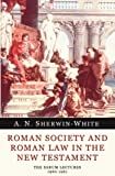 img - for Roman Society and Roman Law in the New Testament: The Sarum Lectures 1960-1961 book / textbook / text book
