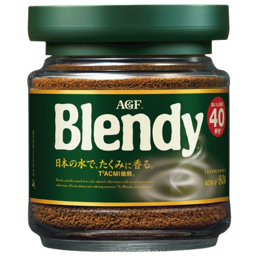 AGF ブレンディ 瓶 80g×24瓶