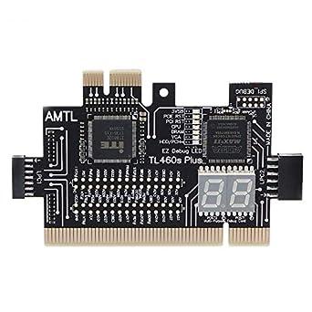 Amazon.com: Tarjeta multifunción LPC-DEBUG PCI PCI-E LPC ...