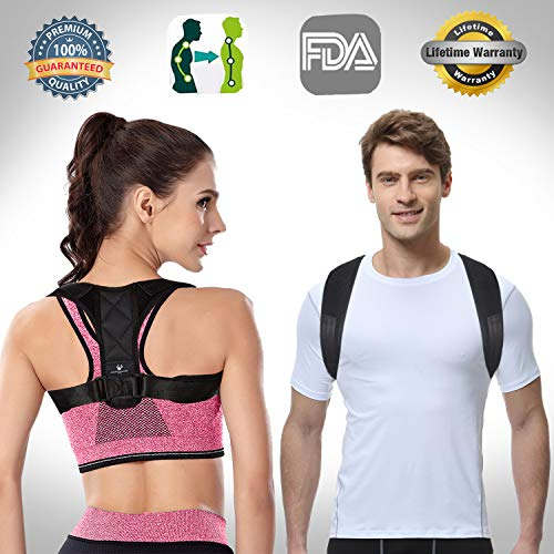 Posture Corrector ,Posture Brace Back Brace for Posture Belt Back Shoulder Posture Corrector for Women Men Adjustable Posture Strap Back Support Posture Corrector Brace for Back Shoulder Pain Relief