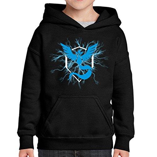 Pokemon-Go-Team-Blue-Mystic-Thunder-Sudadera-Capucha-Kids-Black-8