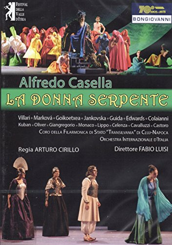 Alfredo Casella: La Donna Serpente (List Of Best Inventions)