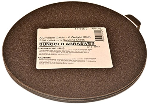 5-Pack PORTER-CABLE 725801205 No.120 5-Inch Psa 8-Hole Disc