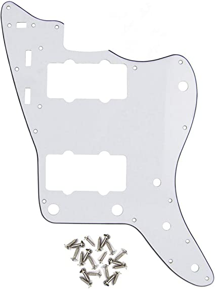 anodized pure aluminium jazzmaster scratchplate