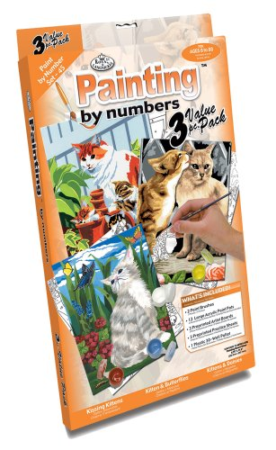 royal-langnickel-painting-by-numbers-junior-small-3-piece-art-activity-kit-cats-set