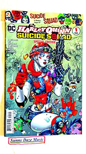 Harley Quinn And The Suicide Squad 2016 Special Edition #1 (Hqdam1) - DC Comic Book - Uncirculated - Has 2 slightly-bent corners/