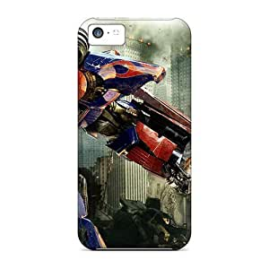 Cynthaskey Fashion Protective Optimus Prime In Transformers 3 Case Cover For Iphone 5c