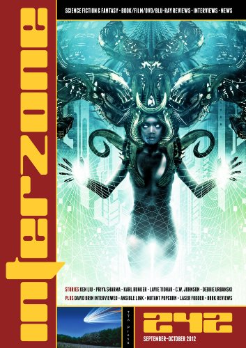 Interzone #242 Sept - Oct 2012 (Science Fiction and Fantasy Magazine)