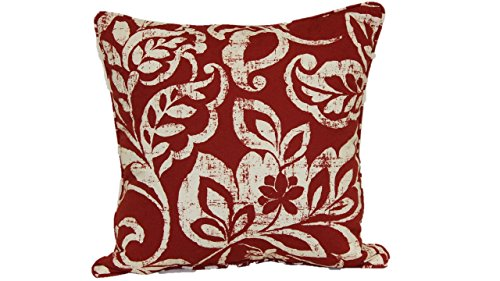 Brentwood Originals 2006 Nadelle Toss Pillow, 20-Inch, Chili