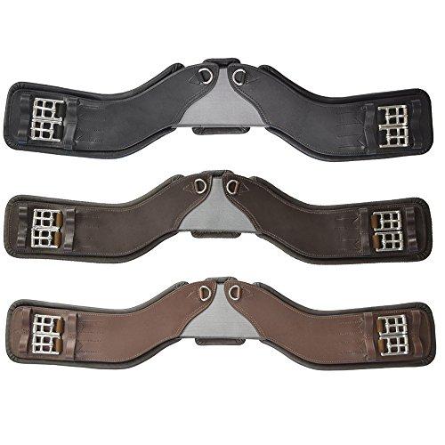 Total Saddle Fit StretchTec Shoulder Relief Girth (Black, 30 w/Black Leather Liner)