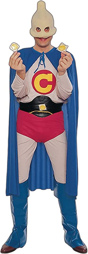 Amazon.com: Capitán tamaño Condón – Disfraz de – Pecho ...