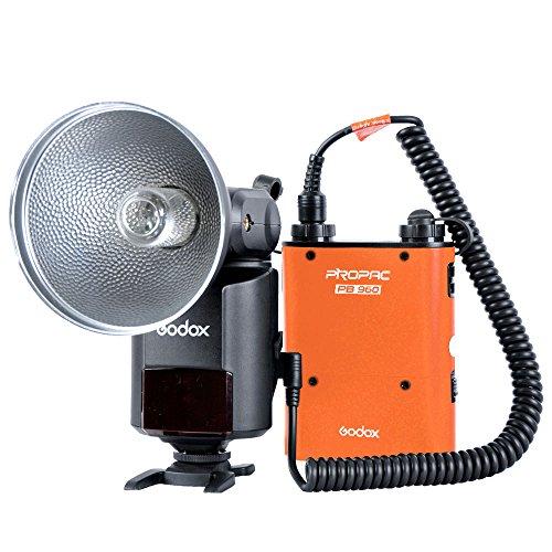 Godox Witstro Ad-360 Portable Flash Light Kit + Pb960 Battery Pack Orange
