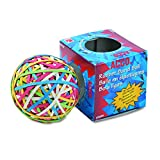 Acco Rubber Band Ball, 3.25 x .125 Inches, Assorted Colors, (A7072155)