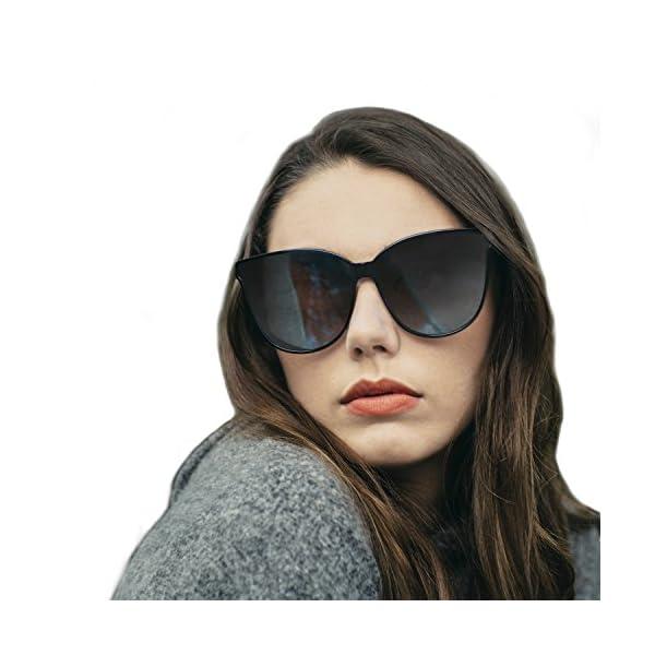 8746e51c83 LVIOE-Cat-Eyes-Sunglasses-for-Women-Polarized-Oversized-
