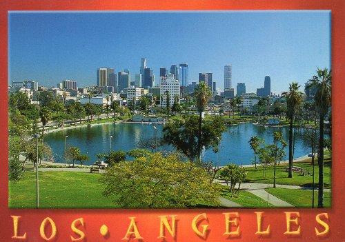 LOS ANGELES MacArthur Park T-918 POSTCARD .... from Hibiscus - Shops Macarthur