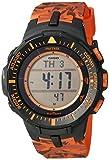 Casio Men's PRG-300CM-4CR Pro Trek Solar-Powered Watch with Orange Band