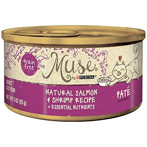 Muse by Purina Natural Grain Free Pate Wet Cat Food Pate - (24) 3 oz. Cans
