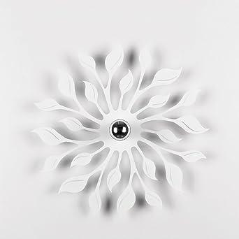 Nordic LED Eisen Wandleuchte, moderne minimalistische schwarz / weiß ...
