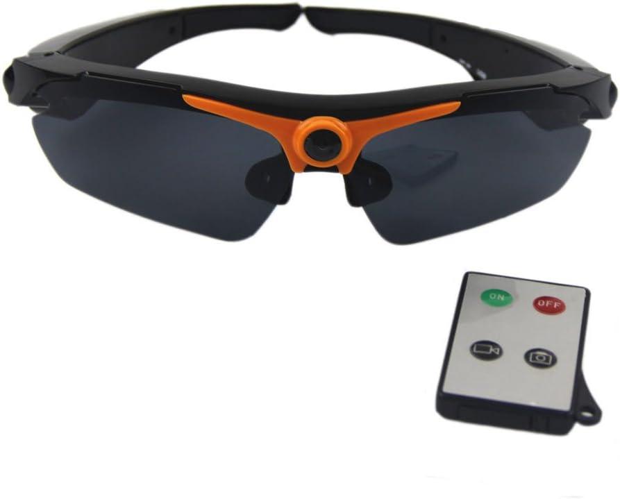 joycam Cámara Gafas de sol polarizadas UV400 Gafas DVR videocámara mando a distancia HD 720P Grabación de vídeo para exterior deportes