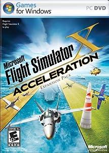 Microsoft Flight Simulator X Acceleration Expansion     - Amazon com