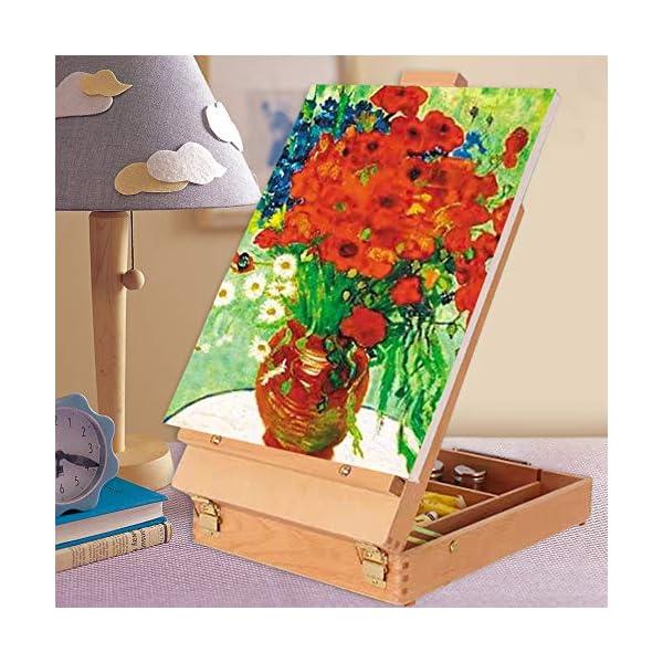 Tabletop-Easel-Art-Easel-Tabletop-Easel-Desktop-Artist-Easel-Premium-Wooden-Art-Easel-Desktop-Case-for-Student-Artist-Beginner
