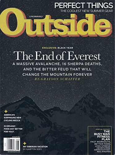 Outside Magazine (August 2014 - Mt - Outside Gear Magazine
