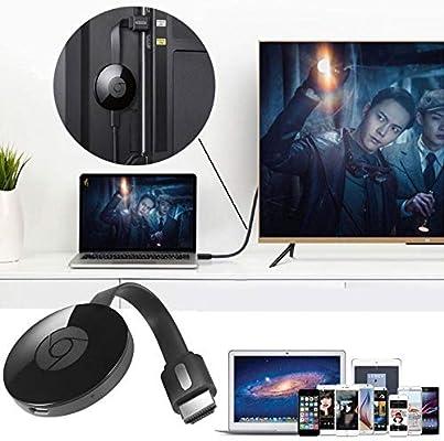 FJHJB Chromecast 2 Digital WiFi HDMI Media Video Streamer 2da generación