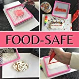 "Grafix Food-Safe Plastic Frosted, 12 x 12"", Pack"