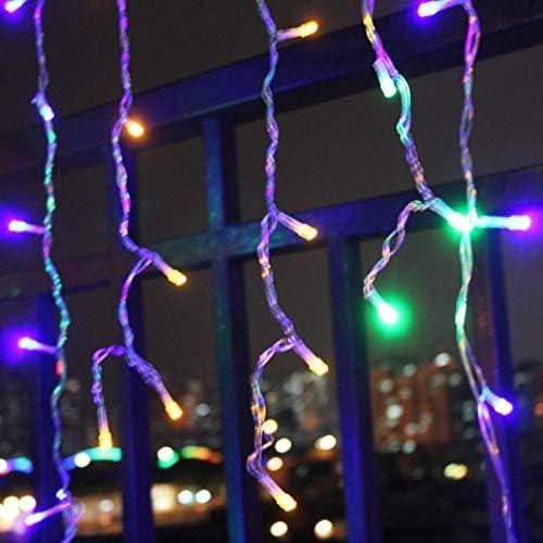 LED-Lichterketten,LED-M?rchenlichter, 5m, Eiszapfen-LED-Lichterkette, Lichtvorhang-Stecker, M?rchenlichter, für die Dekoration von Lichterketten