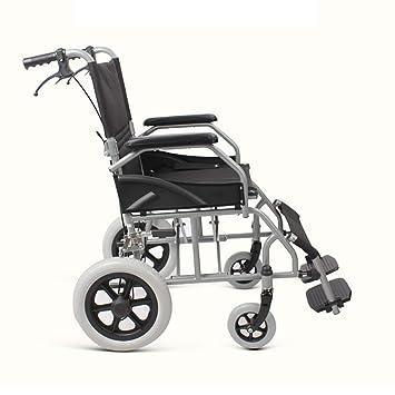Sillas de ruedas Silla de Viaje, Scooter Plegable Silla para Silla de Ruedas Manual para
