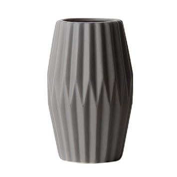 Amazon.com: Flor 5.7 in Origami Jarrón de cerámica botella ...