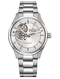 Zenith El Primero Synopsis Silver Dial Stainless Steel Automatic Mens Watch 032170461302M2170