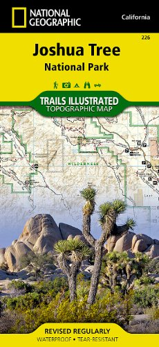 Joshua Tree National Park (National Geographic Trails Illustrated Map) 2005 Map