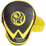 Luvas de Foco/Manopla de Soco - New Fight - Dragão Amarelo - Par- Toriuk