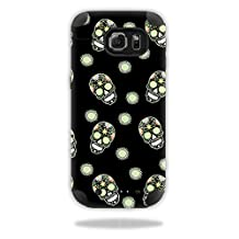 Skin For Mophie Juice Pack Samsung Galaxy S6 – Nighttime Skulls | MightySkins Protective, Durable, and Unique Vinyl Decal wrap cover | Easy To Apply, Remove, and Change Styles | Made in the USA