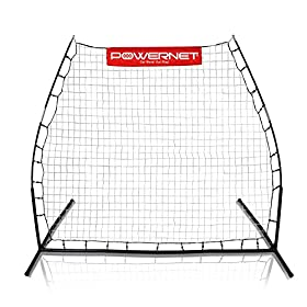 PowerNet Rebounder Soccer Training Rebound Pitchback Net