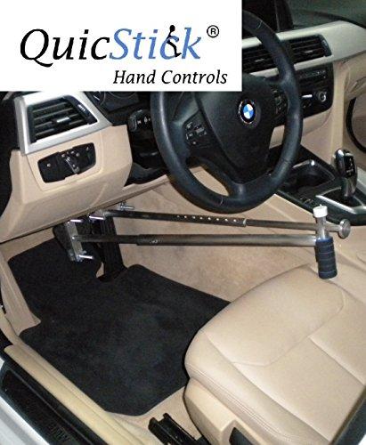 QuicStick Hand Controls Disabled Driving Handicap Aid Equipment