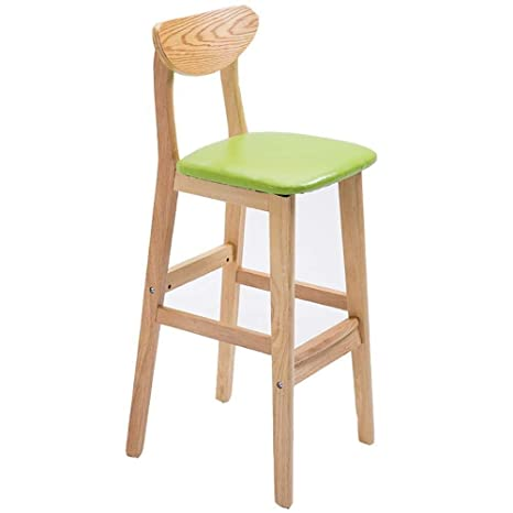 Tremendous Amazon Com Mxk Solid Wood High Chair Creative Bar Chair Gamerscity Chair Design For Home Gamerscityorg