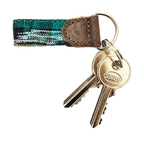 Rustic Mayan Key Chain Handmade by Hide & Drink :: Tropical - Fashion Chicago Outlet In