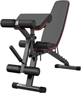 Adjustable Benches Multi-Function Dumbbell Bench Home Folding Fitness Chair Bench Press sit-up Board, Kicking Fitness Equipment Indoor Fitness Chair Bearing Weight 300KG