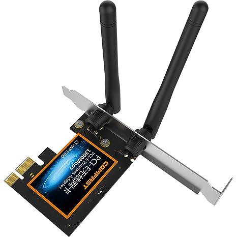 HM2 Tarjeta WiFi Gigabit, transmisor inalámbrico Dual PCI-E ...