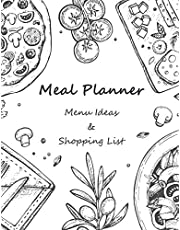 Meal Planner: Menu Ideas and Shopping Lists 53 Weeks For Track and Plan Your Meals Prep Foods Calendars Planning Logs What to Eat Pad Weekly Planning Grocery List Records Journal Diary Notebook