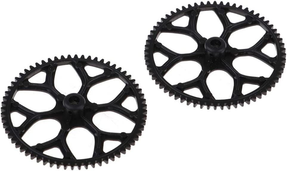 6CH Electric Brushless RC Airplane Parts Gears for XK K123 K124 V931 Planes